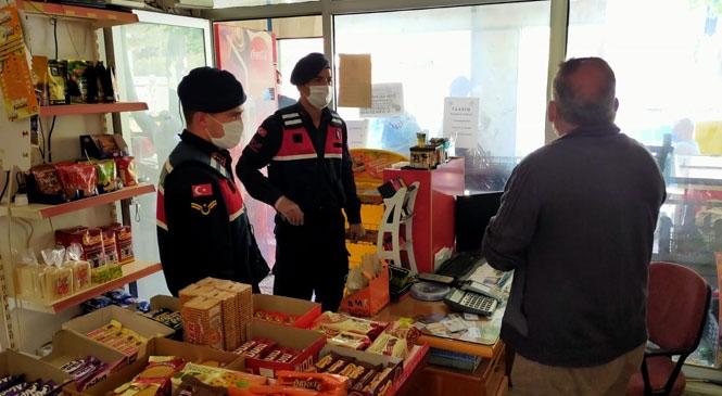 Cuma Günü Jandarma Tarafından Yapılan 9 Saatlik Uygulamada Kural İhlallerine Ceza Yağdı