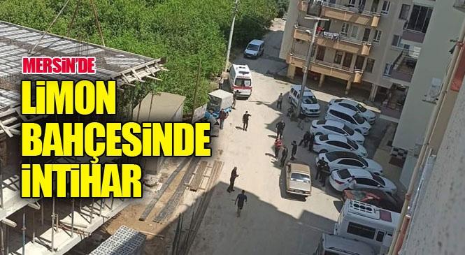Mersin Silifke'de İntihar Olayı! Bir Kişi Av Tüfeğiyle Kendi Vurdu
