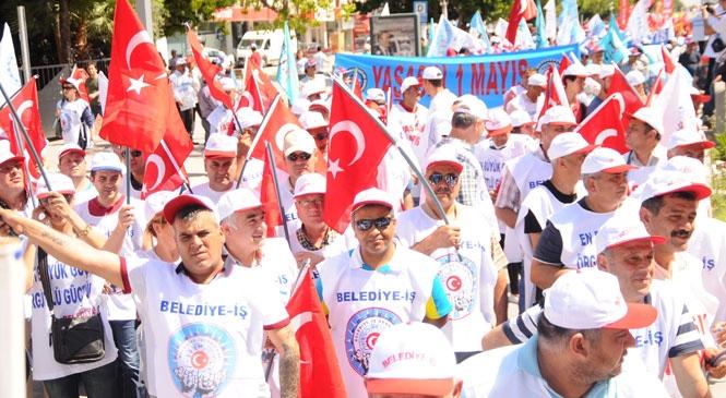 Belediye - İş Sendikası Mersin Şubesinden 1 Mayıs Açıklaması