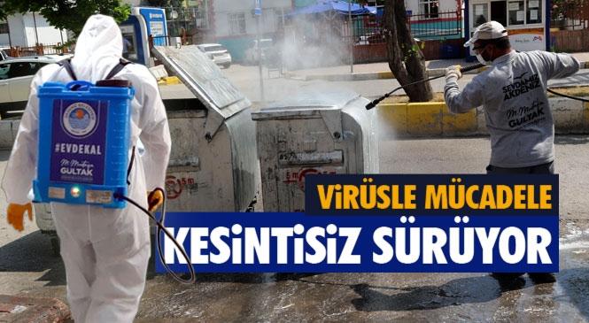 Akdeniz'de Koronavirüs İle Mücadele Kesintisiz Sürüyor