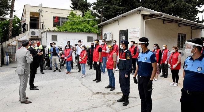 Vali Ali İhsan Su, Vefa Sosyal Destek Grubu Görevlilerini Ziyaret Etti