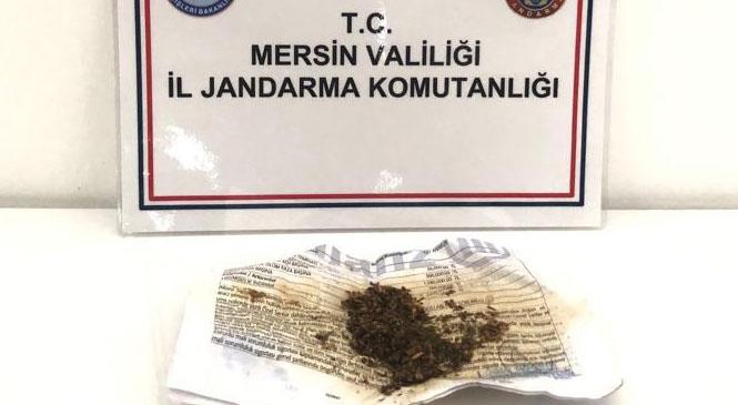 Mersin Anamur Sultan Çayı Kenarındaki Araç İçinde Uyuşturucu Madde Kullanırken Yakalandılar