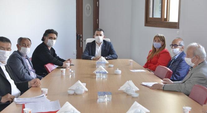 Yenişehir Belediyesi Muhtarlarla İşbirliği İçinde Çalışıyor