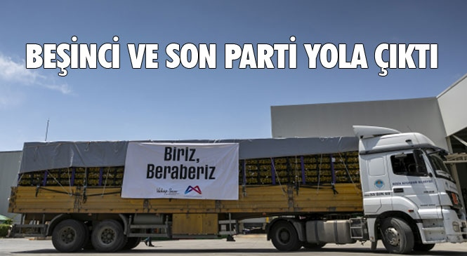 Mersin'den İstanbul'a 100 Ton, Ankara'ya 50 Ton Limonun Tamamı Ulaştı