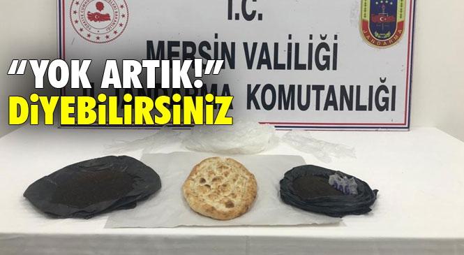 Ekmeklerin Arasında Uyuşturucu Taşırken Yakalandı! Mersin'in Silifke İlçesinde Ekmeklerin Arasında Uyuşturucu Sevkiyatı Yapıldığı İddiasıyla İlgili Biri Fırıncı İki Şüpheli Gözaltına Alındı