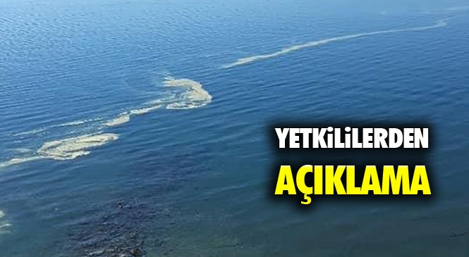 """Deniz Yüzeyinde Görülen Renk Değişimine İlişkin Mersin Büyükşehir Belediyesinden Açıklama """"Mevsimsel"""""""