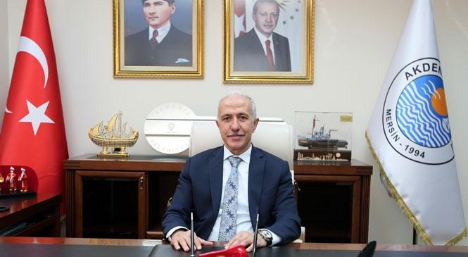 """Akdeniz Belediye Başkanı Gültak'tan, """"19 Mayıs Mesajı"""""""