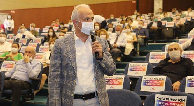 """Akdeniz Belediye Başkanı Gültak; """"Paranın Aktarılacağı Hizmet ve Projeler Anlatılsaydı, Borçlanma Yetkisi Büyükşehir Meclisi'nden Geçebilirdi"""""""