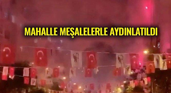 19 Mayıs Günü Sabah Saatlerinden Gece Yarısına Kadar Süren Etkinliklerle Mersinliler Coştu! Mersin'de Meşaleli, Havai Fişekli 19 Mayıs Kutlaması