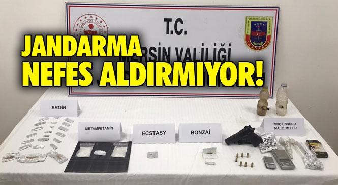 Jandarma Mersin Silifke Atakent'te Uyuşturucu İle Mücadelede 2'li Operasyon Yaptı: 7 Gözaltı Yapıldı, Bonk ve Payp Diye Tabir Edilen Düzenekte Ele Geçirildi