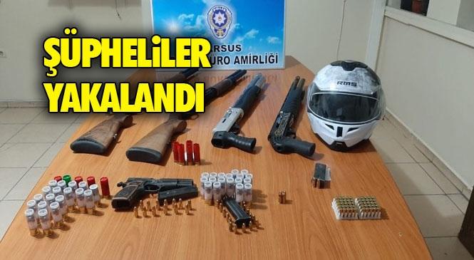 Önceki Gün Mersin Tarsus Anıt Mahallesinde Hasımların Çatıştığı ve Tesadüfen Orada Olan Kadının Öldüğü Olayın Tarafları Yakalandı