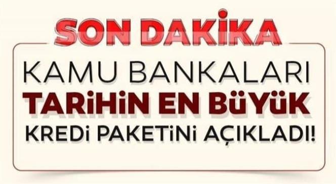 Ev Kredisi İçin Müjde! Kamu Bankaları Tarihin En Büyük Kredi Paketini Açıkladı! Taşıt, Konut Kredisi (0,64)