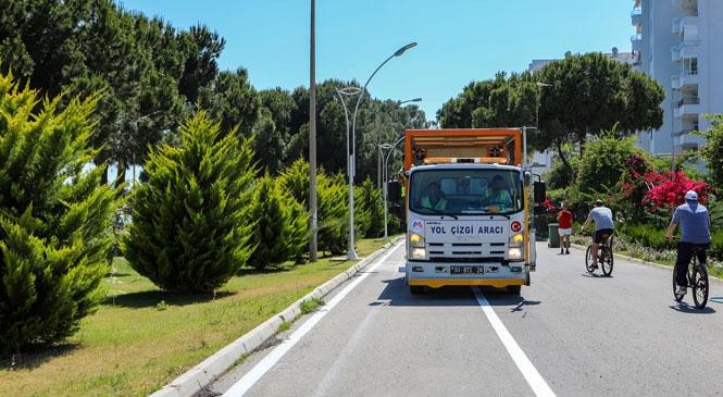 Mersin'de Bisiklet Yoluyla Pedallar 8 Kilometre Boyunca Aralıksız Dönebilecek