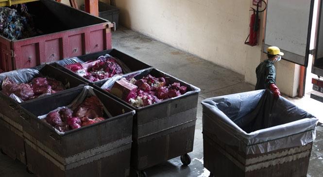 Tıbbi Atıkları Bertaraf Edip, Riski Ortadan Kaldıran Büyükşehir Belediyesinin, Tıbbi Atık Tesisinde Bir Yılda 2 Bin Ton, Koronavirüs Sürecinde 560 Ton Atık Bertaraf Edildi