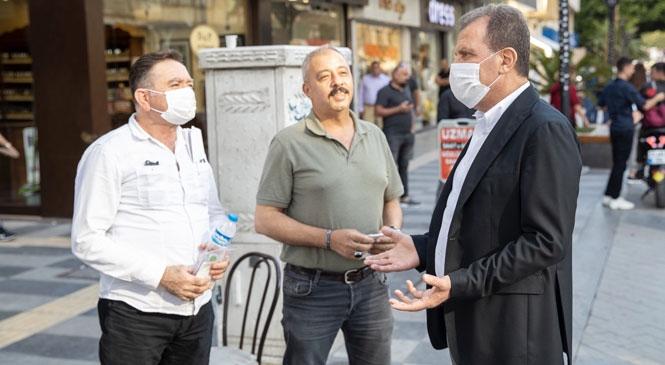 Mersinli Yurttaşlar Su Faturalarıyla İlgili Bilgiyi Bizzat Büyükşehir Belediye Başkanı Seçer'den Aldı