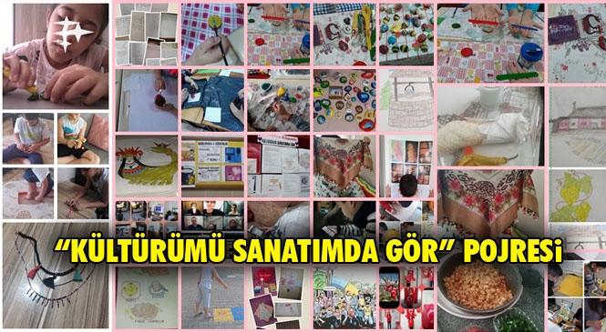 """Tarsus Borsa İstanbul İlkokulundan """"Kültürümü Sanatımda Gör"""" eTwinning Projesi"""