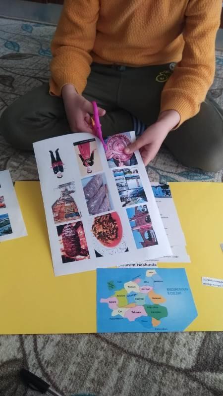 Tarsus Borsa İstanbul İlkokulundan ''Kültürümü Sanatımda Gör'' eTwinning Projesi