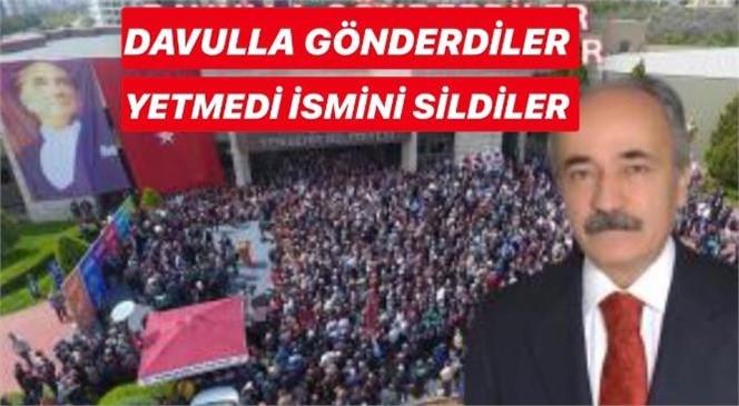 Davulla Gönderdilen Önceki Dönem Yenişehir Belediye Başkanı İbrahim Genç'in, Şimdi de Projelerini Sildiler