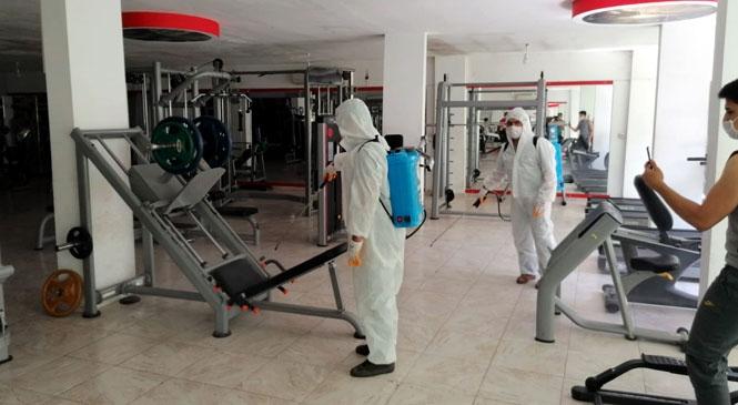 Akdeniz'de Koronavirüs Salgınına Karşı 6 Bini Aşkın Nokta İlaçlandı