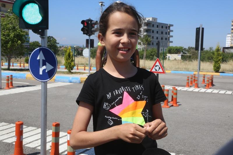 Mersin Erdemli'de Minik Yüreklerin Pandemi Sonrası Trafik Eğitim Heyecanı