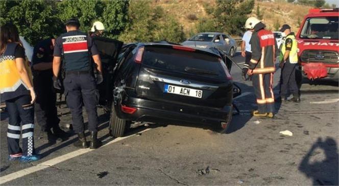Mersin Tarsus'ta Meydana Gelen Trafik Kazasında 3 Kişi Hayatını Kaybetti