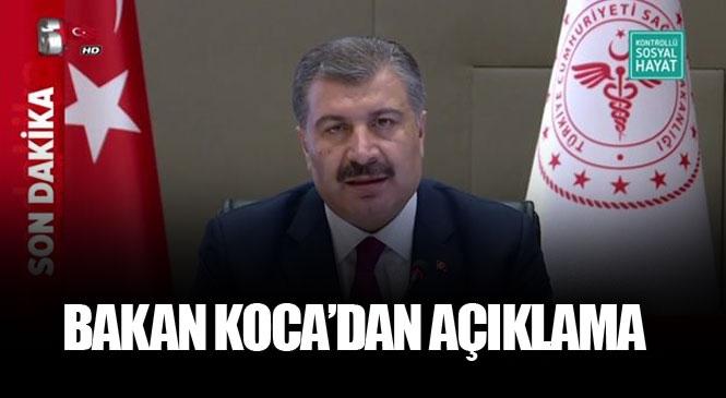 Canlı Sağlık Bakanı Fahrettin Koca, Bilim Kurulu Toplantısı Sonrası Açıklama Yapıyor.