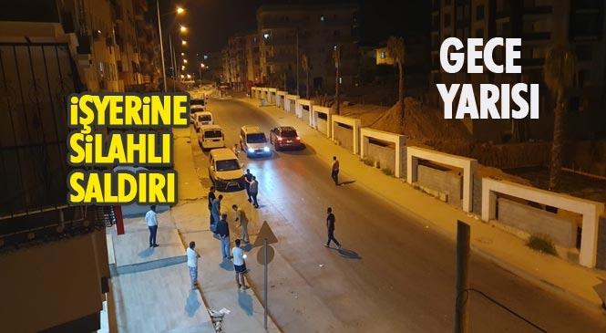 Mersin Tarsus Altaylılar(Ülküköy)'da Tadilat Aşamasında Bir İş Yerine Gece Yarısı Silahlı Saldırı