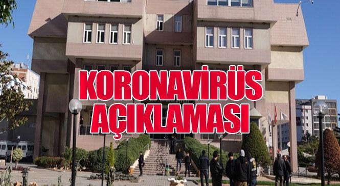 """Koronavirüs Açıklaması! Akdeniz Belediye Başkanı Mustafa Gültak: """"1 Personelimizin İlk Testi Pozitif Çıktı, 7 Personel Evde Karantinaya Alındı"""""""