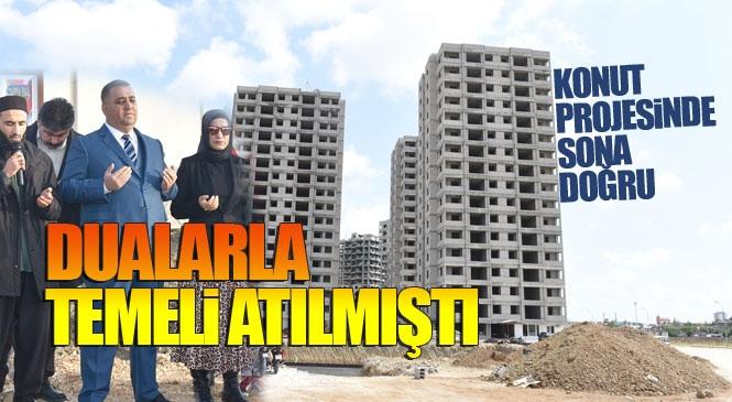 Tarsus Toplu Konut Projesi! Eski Belediye Başkanı Şevket Can'ın İlk Kazmayı Vurarak Hayata Geçirdiği Toplu Konut Projesinin 1. Etabında Sona Doğru