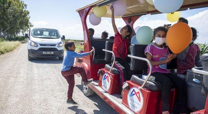 Mersin'deki Mevsimlik Tarım İşçilerinin Çocukları Unutamayacakları Bir Gün Yaşadı