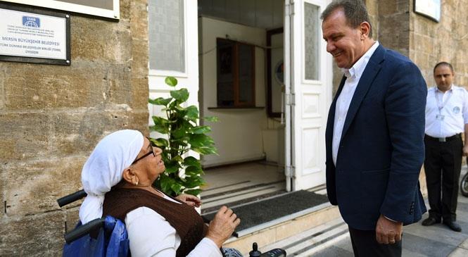 Ayşe Teyze'den, Hayatını Değiştiren Başkan Seçer'e Teşekkür Ziyareti