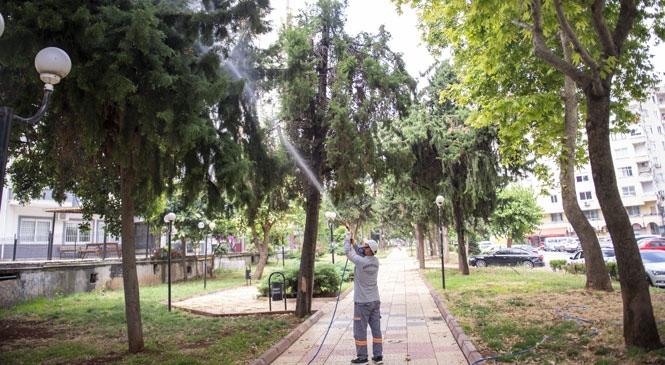 Mahalle Muhtarları, Büyükşehir'in İlaçlama Çalışmalarından Memnun