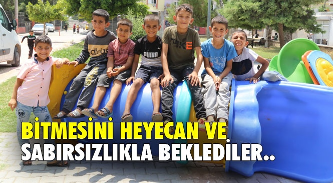 Mersin Akdeniz Belediye Başkan Gültak'tan, Çilek Mahalleli Çocuklara Sürpriz
