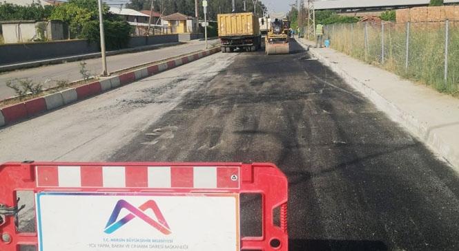 Yenice İçindeki Caddeler Kapsamlı Bakımdan Geçiriliyor! Büyükşehir'in Bağlı Mahallelerde Yol Bakım Çalışmaları Sürüyor