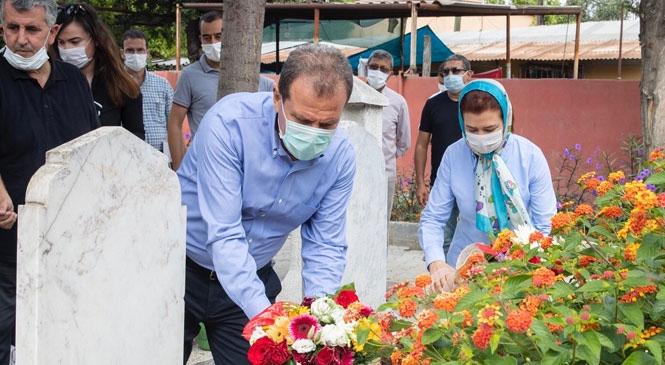 Başkan Seçer, Babalar Günü'nde Şehit Ailelerini Yalnız Bırakmadı