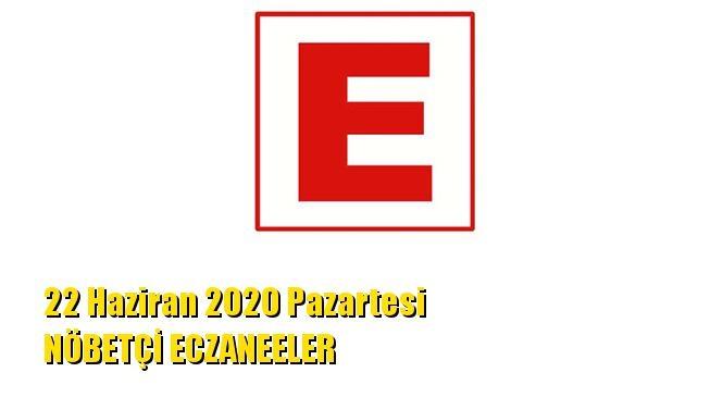 Mersin Nöbetçi Eczaneler 22 Haziran 2020 Pazartesi