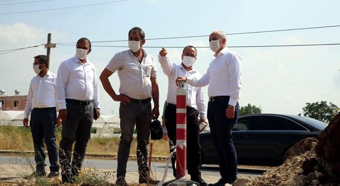 Akdeniz Belediye Başkanı Gültak, Şakir Gülmen Mahallesi'ni Ziyaret Etti