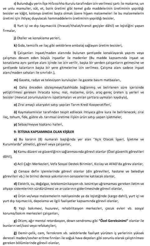 Mersin'de Yasak Var Mı? 27 ve 28 Haziran (Hafta Sonu) Uygulanacak Sokağa Çıkma Kısıtlaması Hangi Saatler Arasında Olacak! Mersin ve İlçelerinde Hangi Gün Hangi Saatler!