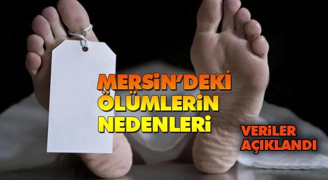 Mersin'de En Fazla Ölümler Hangi Nedenle Oldu! Türkiye'de 2019 Yılında Ölen Kişi Sayısı 435 Bin 941 Oldu