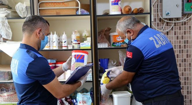 Erdemli Belediyesi Zabıta Müdürlüğü, İlçe Genelinde Fırın Denetimi Gerçekleştirdi