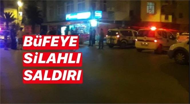 Mersin Tarsus'ta Büfe - Markete Silahlı Saldırı