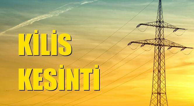 Kilis Elektrik Kesintisi 30 Haziran Salı