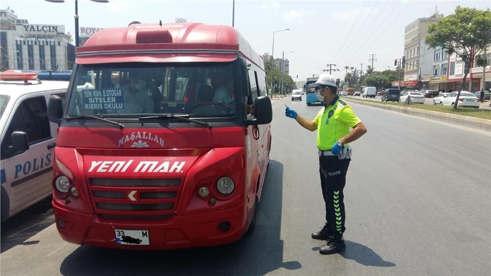 Mersin'de Trafik Denetimleri: 60 Bin 358 Araç Kontrol Edildi