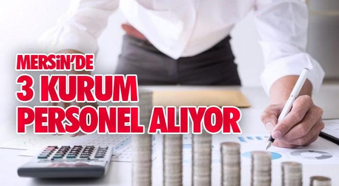 Yenişehir Belediyesi, Tarsus Belediyesi ve Tarsus Ticaret Borsası Lisanslı Depoculuk A.Ş. Personel Alımı Yapıyor