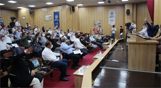 Akdeniz Belediye Meclisi, Temmuz Ayı İkinci Birleşimini Belediye Başkanı M. Mustafa Gültak Başkanlığında Gerçekleştirdi