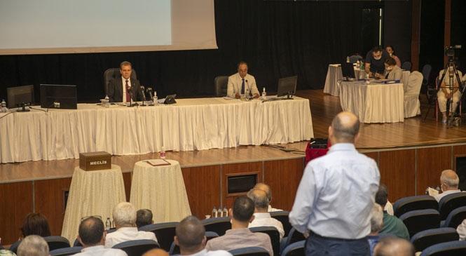 Mersin Büyükşehir Belediyesi Temmuz Ayı Meclis Toplantısı Birinci Birleşimi: Tamamlandı İşte Alınan Kararlar!