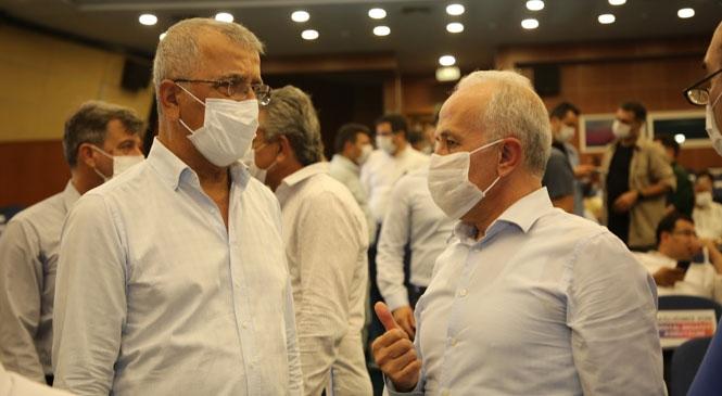 """Akdeniz Belediye Başkanı Gültak; """"Mersin'in Geleceğini İpotek Altına Aldırmayız!"""""""