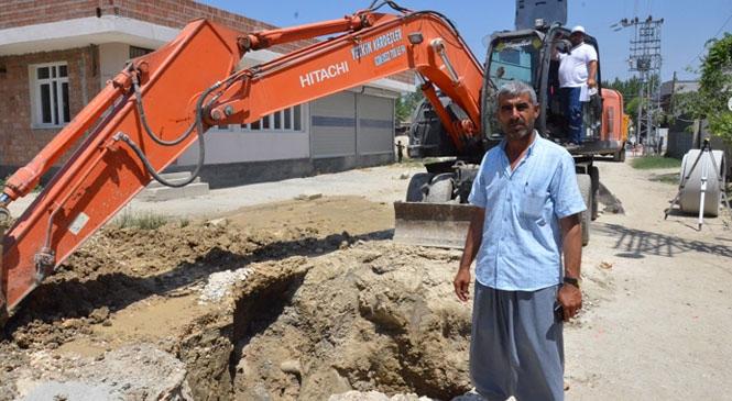 Mersin Tarsus Günyurdu Mahallesi Atgirmez Mevkiinin 35 Yıllık Altyapı Sorunu Çözüme Kavuşuyor