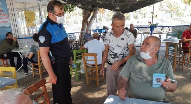 Mersin'de Polis'ten Vatandaşlara Sözlü ve Broşürle Uyarı Yapıldı