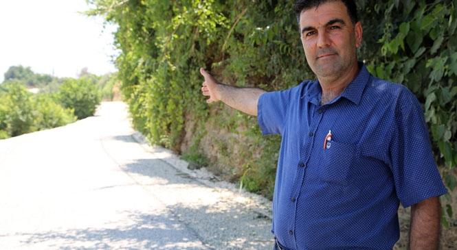 Pınarbaşı'na Erdemli Belediyesin'den Asfalt Hizmeti